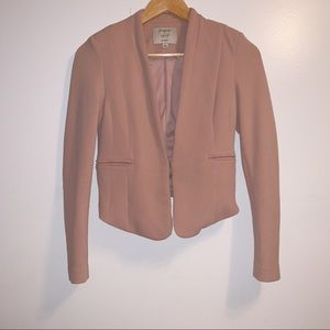 Iris by los angles Nude blazer
